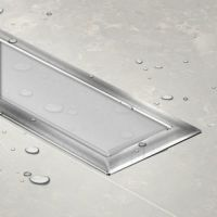 Tuš kanalica Confluo Premium Drain Line White Glass 300 13100082